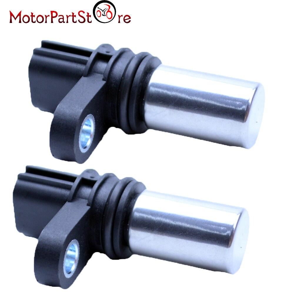 New 2pcs crank crankshaft cam camshaft position sensor for nissan altima 2 5l china