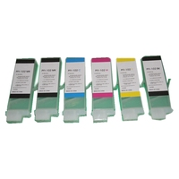 Einkshop PFI-102 PFi102 cartucho de tinta para Canon IPF 605  650  655  750  755 IPF605 IPF650 IPF655 IPF750 IPF755 plotter sin chip