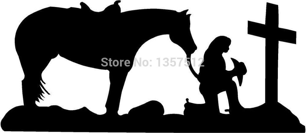 Wholesale 20 Pcs Lot Cowgirl Praying Cross Horse Pray Christian