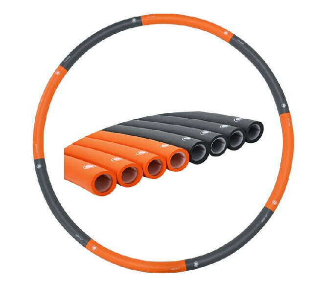 1.8KG Dia 100cm hula hoop 8 parts waist workout for professional freeshipping