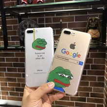 Sad Frog Phone Case iPhone X 8 7 7 Plus 6 6s