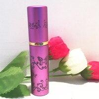 free shipping 5ml purple perfume spray bottle,emollient water glass packing bottle