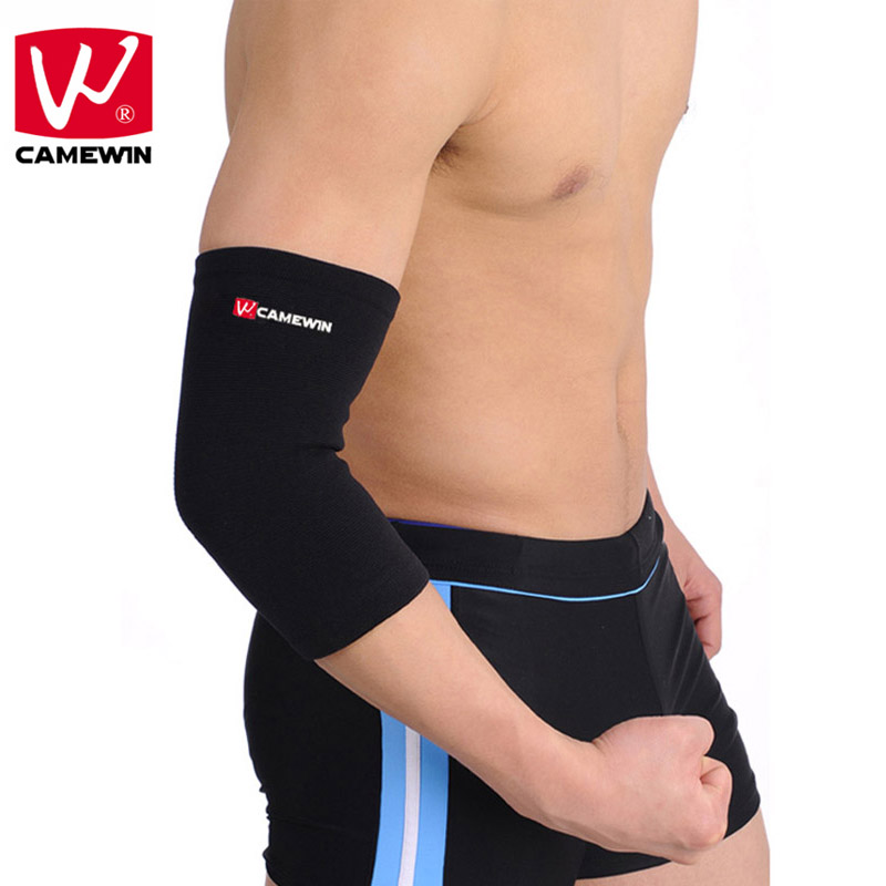 CAMEWIN 1 Piece Elbow Support Elastic Gym Sport Elbow Protective Pad Absorb Sweat Sport Basketball Arm Sleeve Elbow Brace цена 2017