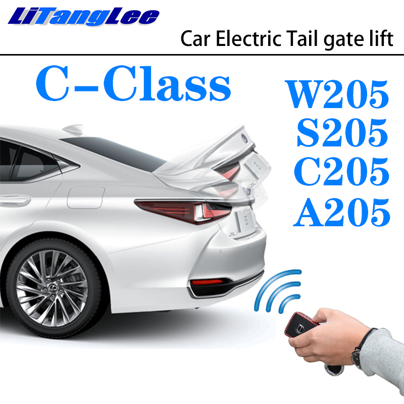 LiTangLee Car Electric Tail Gate Lift Trunk Rear Door Assist System For Mercedes Benz MB C Class W205 S205 C205 A205 2014~2019