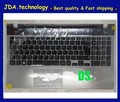NEW/orig palmrest topcase Upper cover for SAMSUNG NP550P5C KEYBOARD WITH C shell touchpad UK LAYOUT