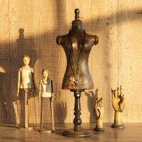 Импортированный из Индии винтажный манекен Ювелирная рамка украшения Креативные украшения ремесла витринная бутафория