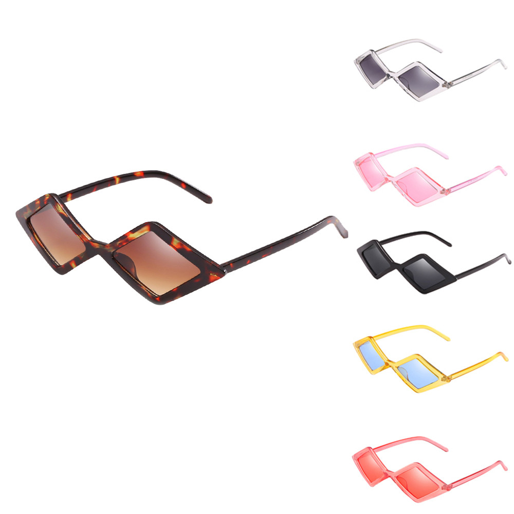 e4a01da04f Detail Feedback Questions about Triangle Sunglasses Women Men Frame ...