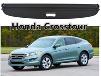 Car Rear Trunk Security Shield Cargo Cover For Honda Crosstour 2011.2012.2013.2014.2015.2016.2017 High Qualit Auto Accessories