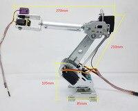 DLT699 Robot Arm 6 Axis 6 Dof Manipulator Industrial Educational Robot Arm + 6 Servos