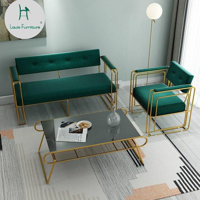 Louis Modis Kursi Ruang Tamu Minimalis Sofa Kantor Santai Di Kursi