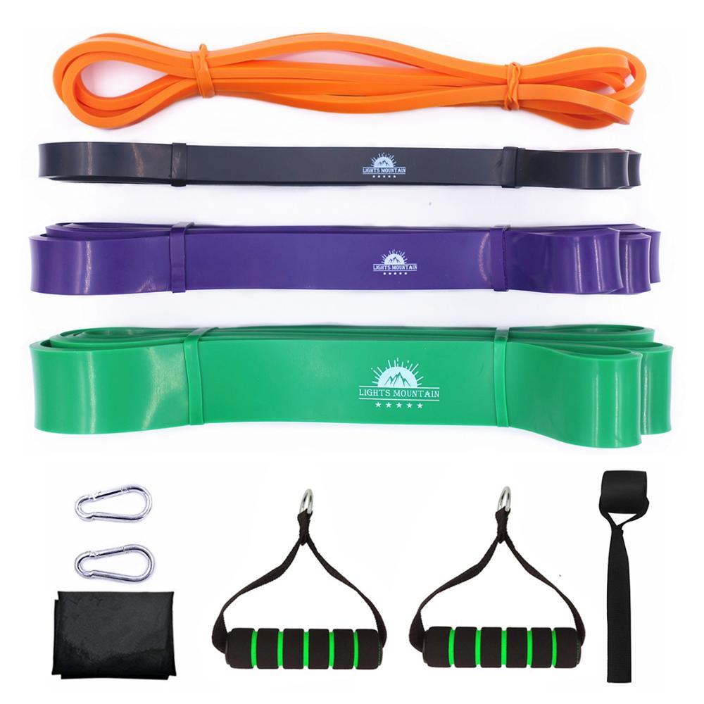 Pull Up Assist Bandas de Resistência Set Heavy Duty Poder Expansor Trecho Bandas de elevação Equipamento de Treinamento de Fitness Gym Workout