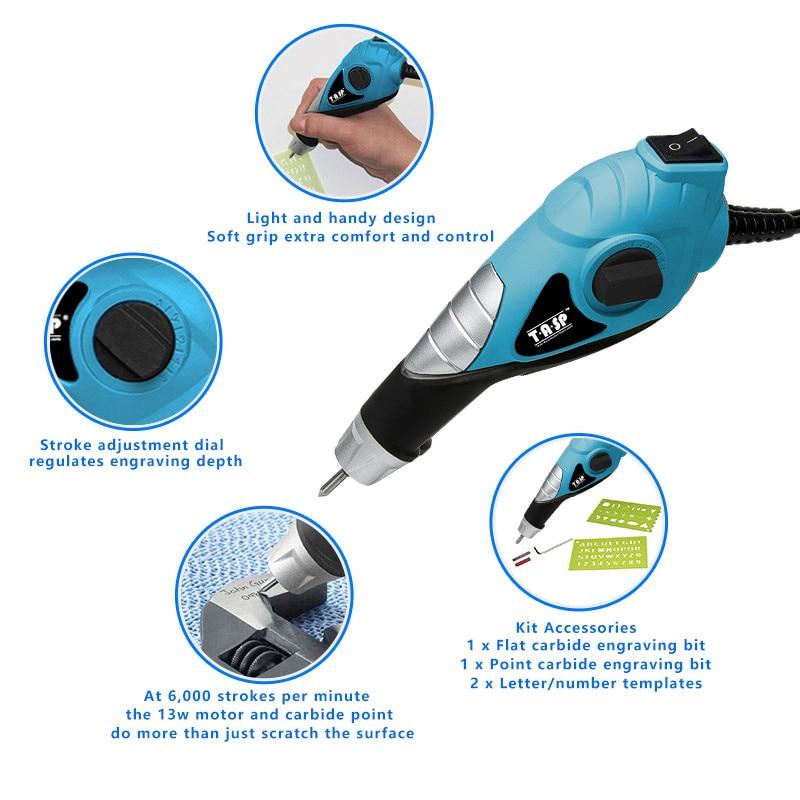 230V 13W outil de gravure électrique stylo de gravure pour bois - Outillage électroportatif - Photo 3