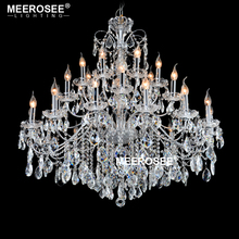 купить Chandelier Modern Crystal Chandelier Light Chandeliers Crystal Light Lighting Living Room Bedroom Lustres Fixtures Dining Room по цене 66007.21 рублей