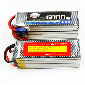 Image 5 - 6S RC Drone LiPo Battery 22.2V 6000mAh 60C For RC Model Aircrft Airplane Helicopter Drone Car AKKU 6S Toys Batteries 22.2V LiPo