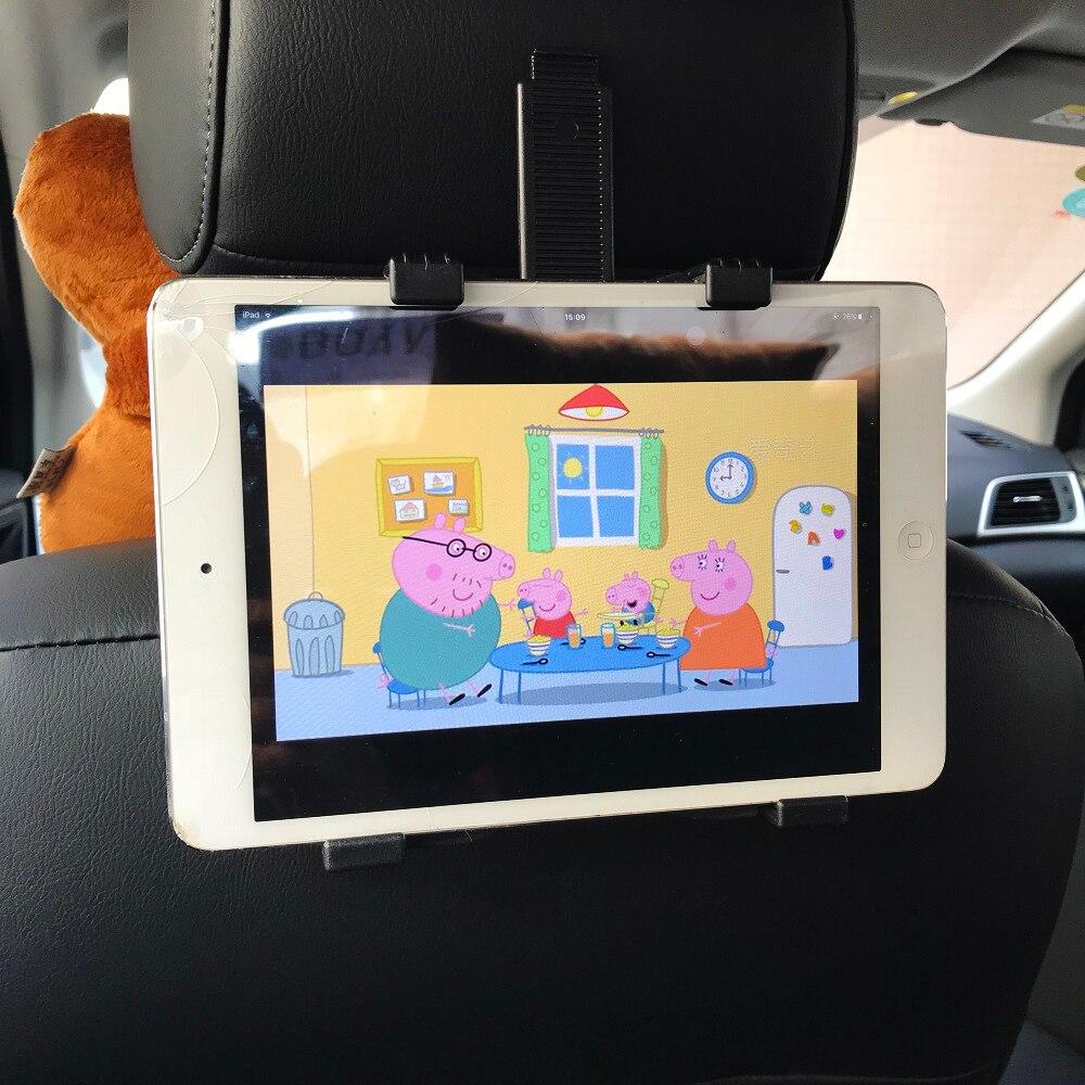 Kovader 4-12 zoll Universal Handyhalter Auto Tablet Steht 360 Drehbare Rücksitz Unterstützung Kopfstütze Halterung für ipad Mini