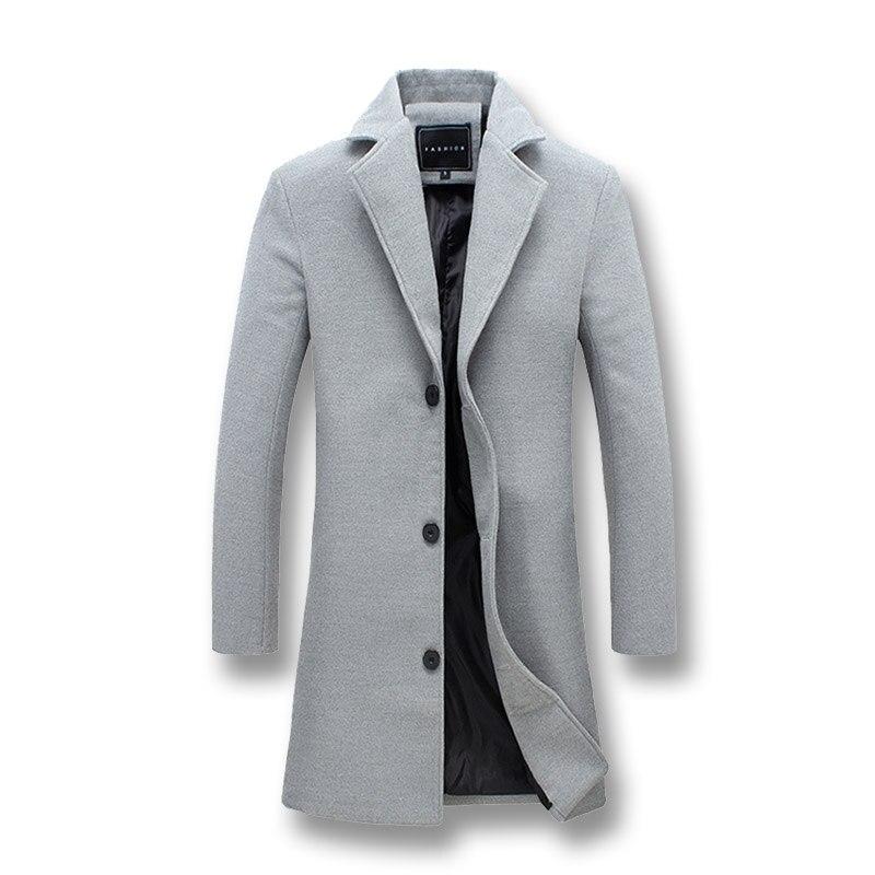 Men Fashion Jackets Men Slim Fits Coats Business Mens Long Winter Windproof Outwears Plus Size 5XL Men Fashion Jackets Men Slim Fits Coats Business Mens Long Winter Windproof Outwears Plus Size 5XL Black Hot Sale High Quality