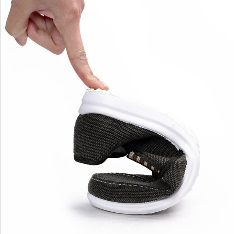 azul Pisos Casuales Hombres Nueva Agutzm De Zapatos Llegada Moda Q84 Cómodos caqui Niza Negro Pana Zapatillas xRT6q