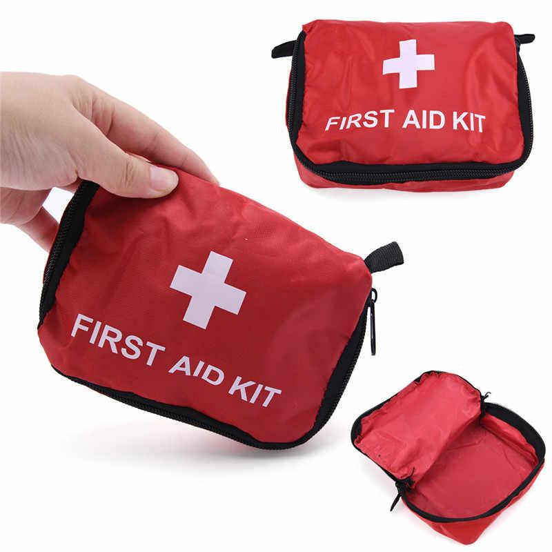 קטן נייד רפואי סמים מקרה נסיעות אריזה קוביות נייד עמיד למים נסיעות תיק 14*10*5 cm/5.5 * 3.9 * 2in