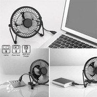 Newly Solar Panel Powered Fan 5.2W Mini USB Portable Fan Solar Power Phone Charger for Outdoor
