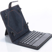 MOSUNX Futural Digital Universal 8 9 Inch Bluetooth Keyboard Leather Stand Case For PC Tablet Drop