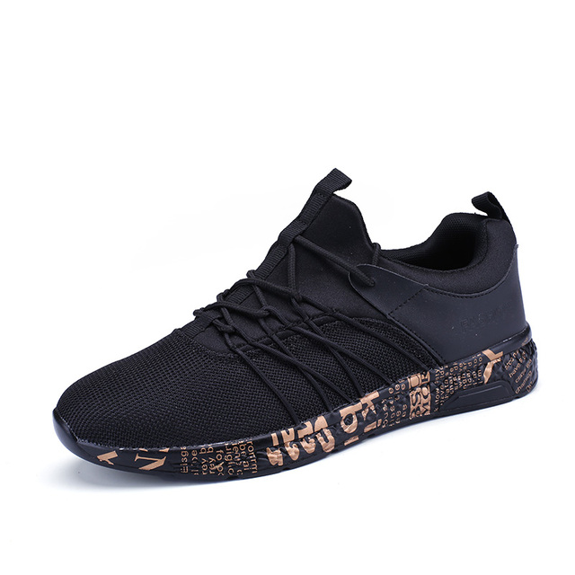 bf4d6f22f64b cool men shoes sport 2018 new summer flyknit mesh breathable yeezys running  shoes letter bottom brand athletic sneakers for boy