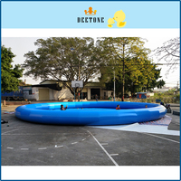 Deetone12m * 1 м высокое качество ПВХ круглый песок бассейн дети играют Развлечения надувной бассейн