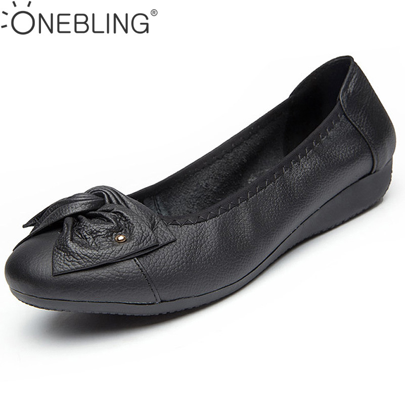 16 Colors Breathable Soft Women Flats Genuine Leather Shoes 2017 Fashion Flat Casual Shoes  Hollow Bowknot  Ladies Peas Shoes  nis women air mesh shoes pink black red blue white flat casual shoe breathable hollow out flats ladies soft light zapatillas