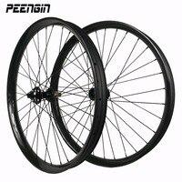 27.5er DH горный велосипед углерода Колесная 50x25 мм большой размер колеса велосипеда комплект Горячая распродажа! обода низкая цена для гонок т