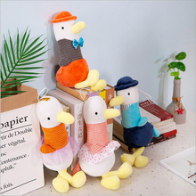35cm Hot Toys Cute Couple Seagull Plush Toys Stuffed Animal Plush Doll Toy Baby Soothe Doll Children & Kids Gift стоимость