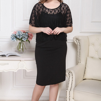 XL-8XL Plus Size Women Summer Skirts Casual Black Large Size Office Ladies Work Skirt Faldas 6XL 7XL Stretch OL Skirt Clothings 5