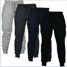 Men Pants 2018 New Spring Loose Tracksuit Letter Harem Pants Sweatpants Hiphop Trousers Joggers Masculina Plus Size S-XXL cheap Full Length Elastic Waist BONJEAN common Flat JERSEY Midweight REGULAR COTTON Sashes Casual