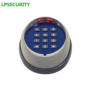 Image 4 - LPSECURITY 433MHZ لوحة مفاتيح لاسلكية للجدار للمرآب/سوينغ/انزلاق بوابة فتاحة/لوحة المفاتيح اللاسلكية التبديل مع المتلقي