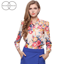 Ladies Office Shirts Womens Summer Tops and Chiffon Blouse Long sleeve Elegant Formal Office Women's Blusas Femininas Plus Size