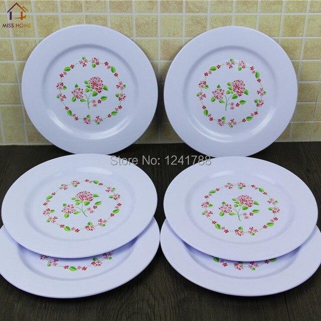 (6 pcs/set Big size) Plastic Cake Plate Food Plates Dessert Dishes Tray & 6 pcs/set Big size) Plastic Cake Plate Food Plates Dessert Dishes ...
