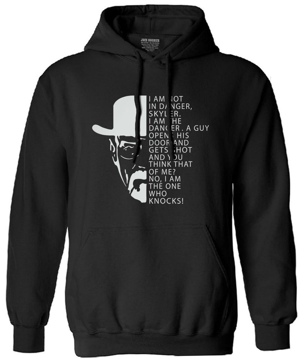 BREAKING BAD Danger Heisenberg harajuku sweatshirt man Cotton long Sleeve Men autumn winter Fashion male Swag hooded streetwear