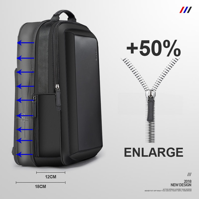 Men's Travel Bag Waterproof Anti-theft Large Capacity Multifunction