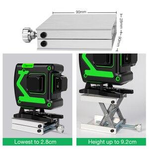Image 4 - 12 ライン 3Dレーザーレベルワイヤレスリモート自己レベリング 360 水平 & 垂直クロスライングリーンレーザーバッテリー & 三脚