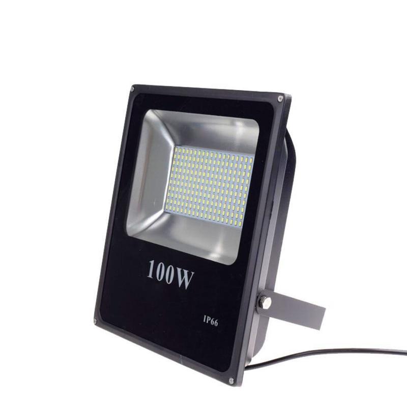 DC12V LED Spotlight 10W 20W 30W 50W 100W IP65 Projecteur LED Flood Light 12V 5730SMD LED street Lamp Wall Lamp Garden Square