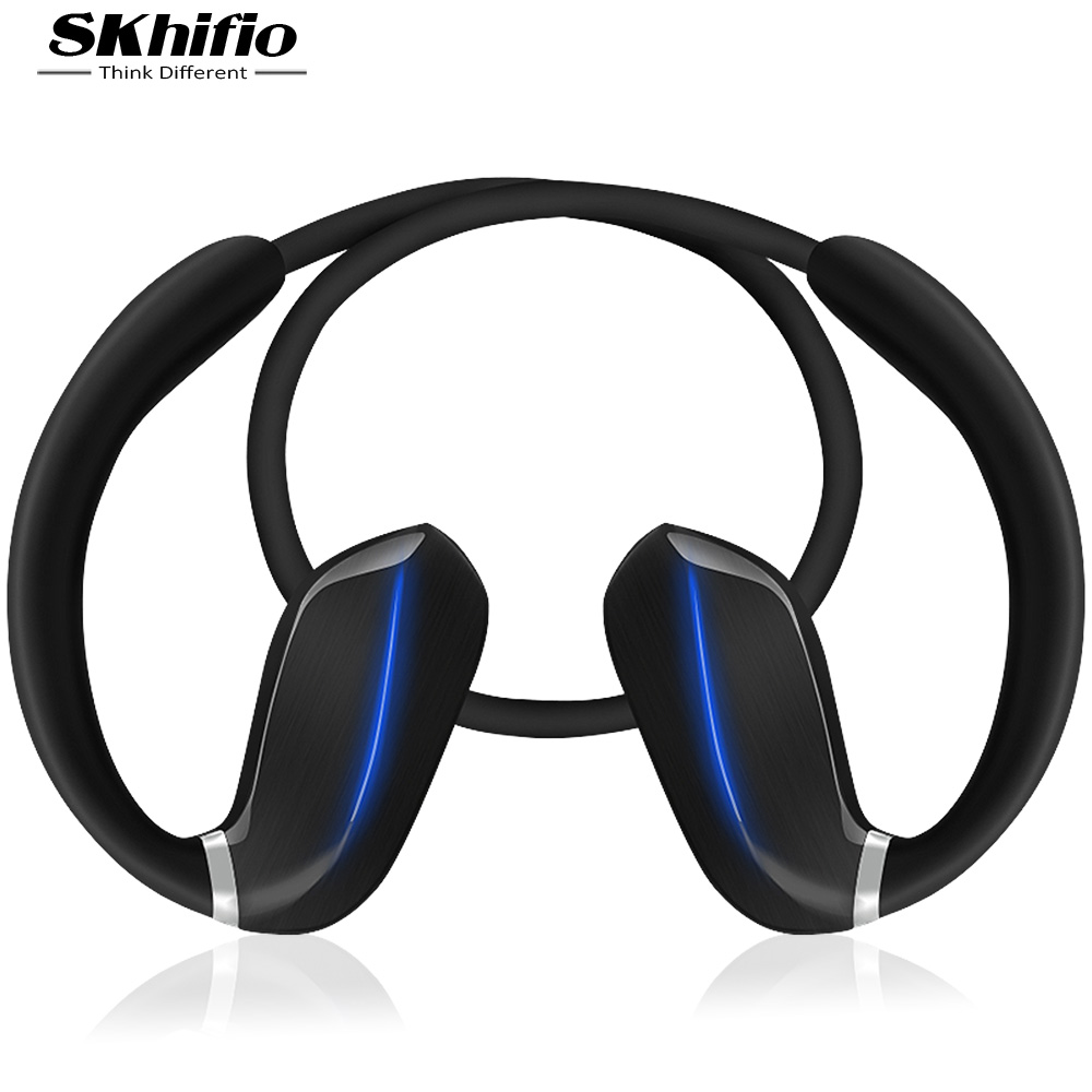 SKhifio RW3 Sports Bluetooth Headphones Waterproof Wireless Earphone Outdoor Running Headset Ear Hook with Mic APTX for Phone wireless bluetooth headset running earphone ear hook with mic earbuds for apple meizu xiaomi mobile pc lg sports headphones