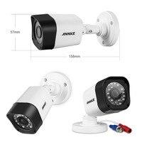 SANNCE 1pcs 720P CCTV Bullet Type TVI CCTV Security Camera Indoor Outdoor Waterproof Surveillance Dvr Kit