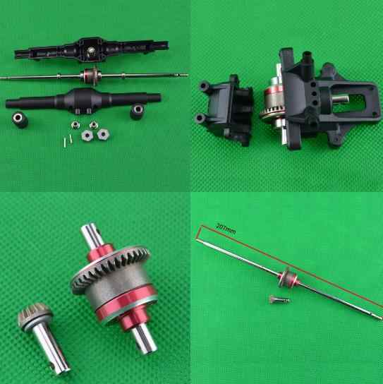 Feiyue FY-01 FY-02 FY-03 FY-04 FY-05 FY-06 FY-07 1/12 RC Cars Parts Upgrade front and rear differential box / Differential gear
