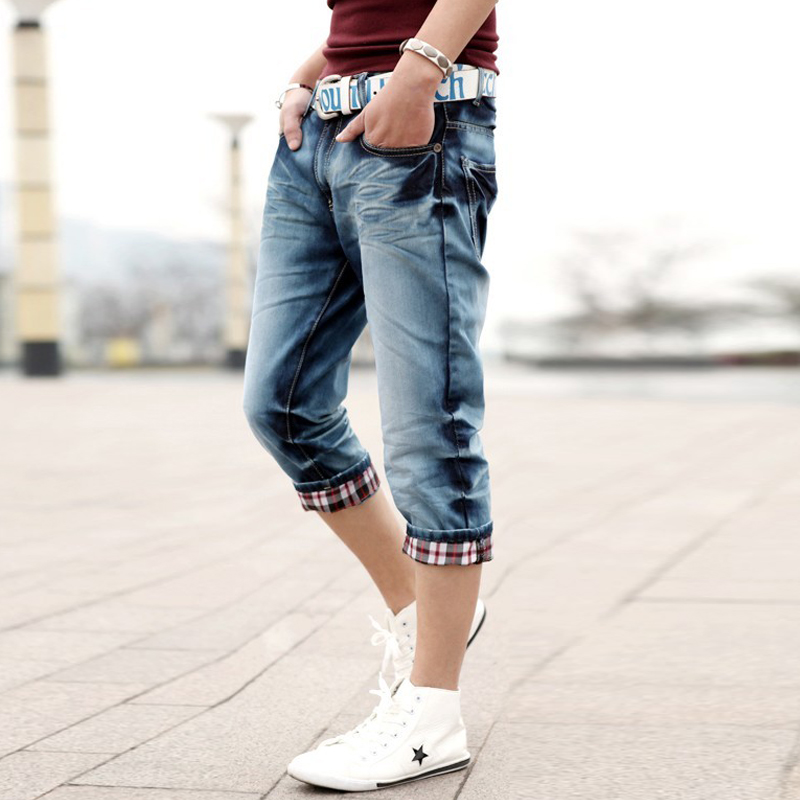 Denim Capris For Men - The Else
