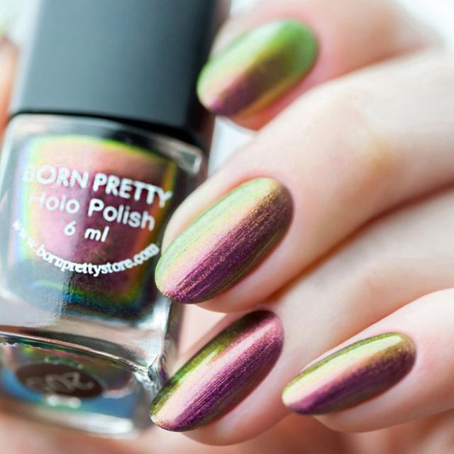 Born Pretty 6ml Nail Polish Chameleon Black Polish Varnish DIY Nail Art