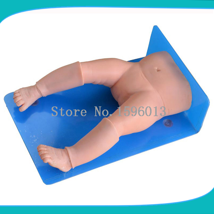 Infant/Baby bone marrow puncture training model,Infant Bone Marrow Aspiration Training Simulator amplified alar bone sphenoid bone amplification model