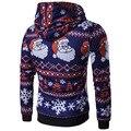 Рождество стиль 2016 стиль толстовки мужчины хип-хоп 3D печатные толстовки и кофты повседневная chandal sudaderas hombre, пальто куртки