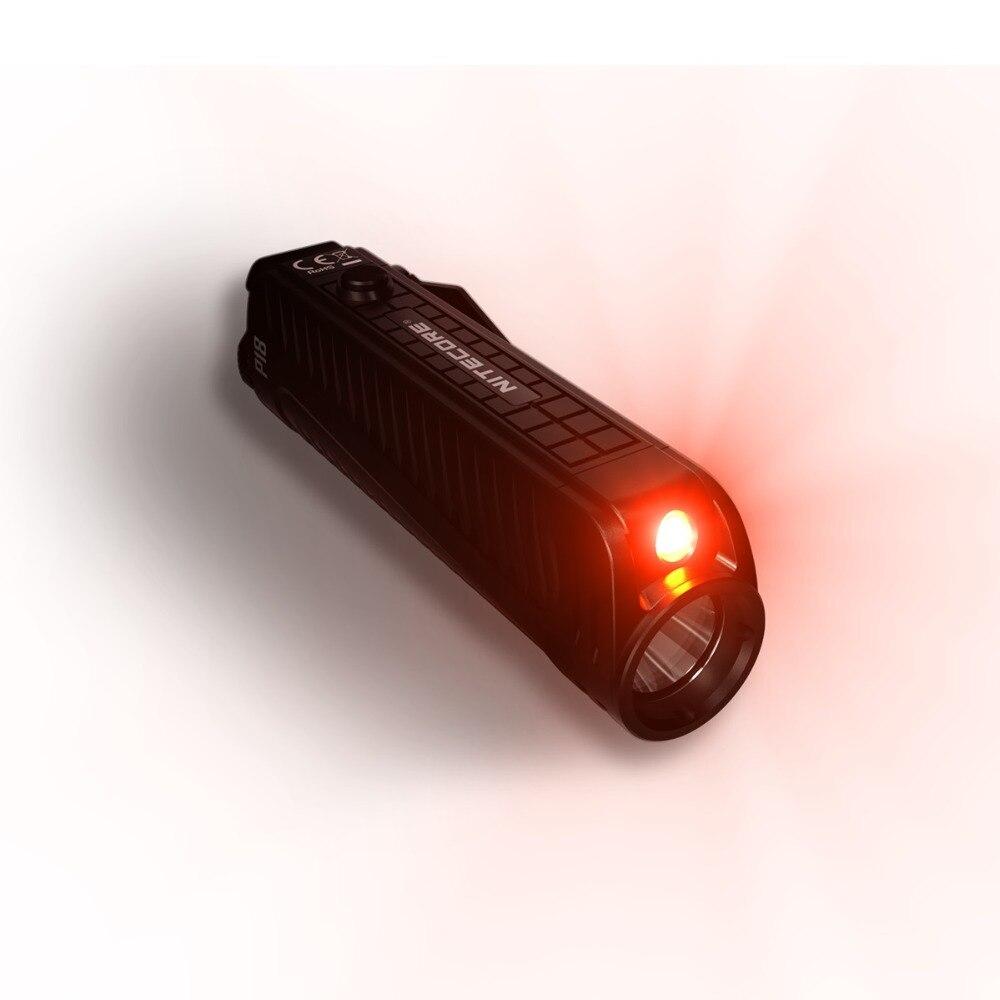 2019 новый NITECORE P18 1800 люмен CREE XHP35 HD светодиодный Белый Красный светильник Шестерни правоохранительных органов поиск Открытый Кемпинг светодиодная вспышка светильник фонарь - 3