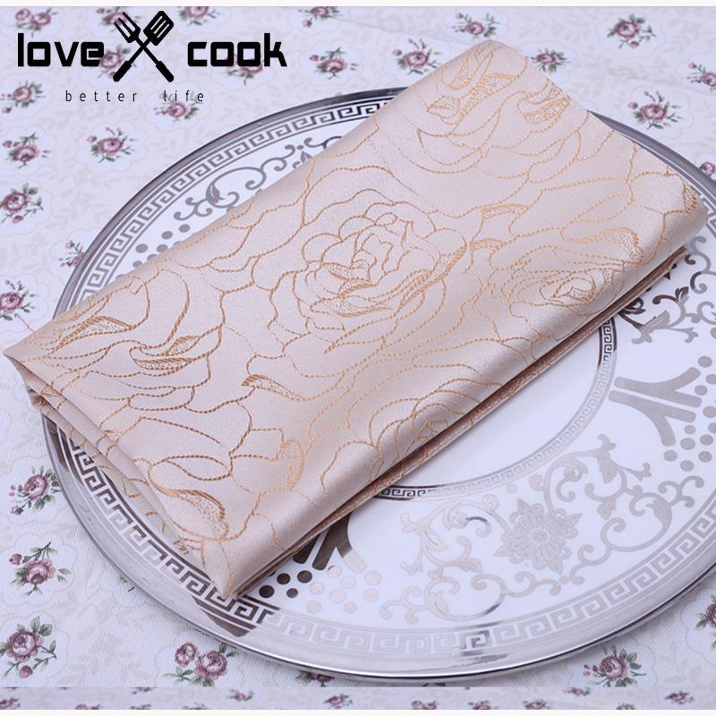 4pcs Hotel Dinner Serviette Fashion Table Napkin