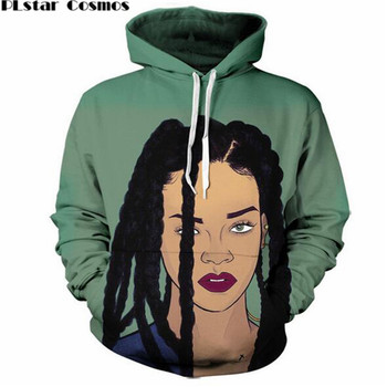 PLstar Cosmos street style Men Women beautiful 3D Hoodies graphic print Rihanna Hooded Sweatshirts Size S-5XL Drop shipping