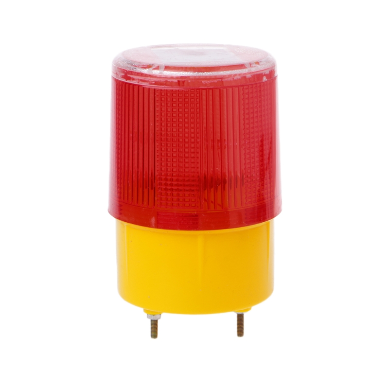 0.3w Solar Powered Emergency Strobe Warning Light Wireless Flashing Traffic Lamp
