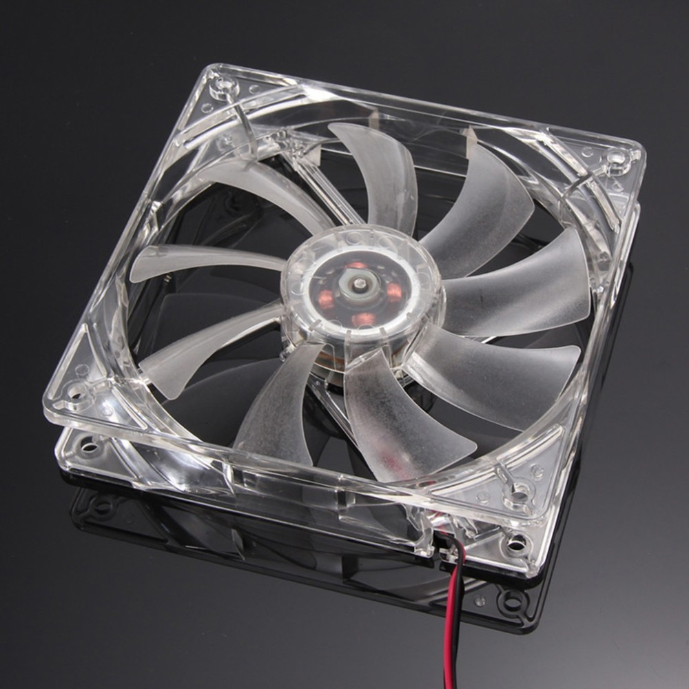 120mm Cooling Fan With 4 LEDs 7